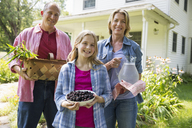 A family summer gathering at a farm. A shared meal, a homecoming. - MINF04935