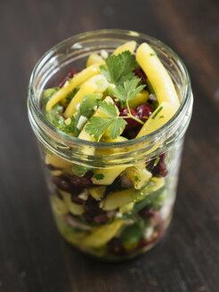 Jar of three bean salad - HAWF01016