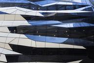 Poland, Poznan, facade of modern shopping centre - FCF01426
