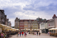 Poland, Poznan, old market at the historic old town - FC01429