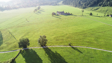 Austria, Tyrol, Kufsteinerland, Aerial view of fields and meadows - AIF00544