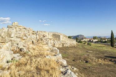 Greece, Peloponnese, Argolis, Tiryns, archaeological site - MAMF00203
