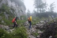 Woman and teenager hiking - HAMF00349