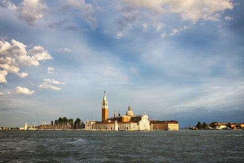 Italy, Venice, San Giorgio Maggiore in the evening light - GIOF04178