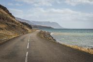Iceland, Vestfiroir, empty road - KEBF00859