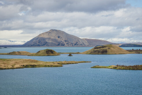 Iceland, pseudocrater in lake Myvatn - KEBF00871