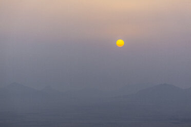 Morocco, Jbilet mountains at sunrise - MMAF00496