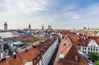 Germany, Bavaria, Munich, City Center and Cathedral of Our Lady - THAF02240