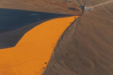 Africa, Namibia, Namib desert, Namib-Naukluft National Park, Aerial view of desert dune 45 - FOF10120