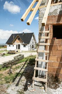 Bulgaria, Plovdiv, new build houses - DEGF00958