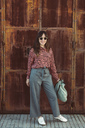 Portrait of a fashionable woman in the city - SUF00554