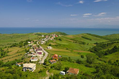 Albania, Adriatic Sea, Cape of Rodon, village Shetaj - SIEF07914