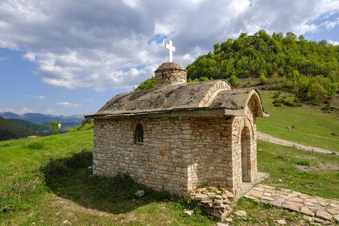 Albania, Qark Korca, Vithkuq, Kisha e Shen Thanasit - SIEF07937