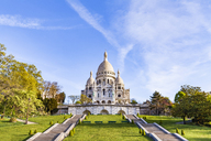 France, Paris, Montmartre, Sacre-Coeur de Montmartre - WDF04791