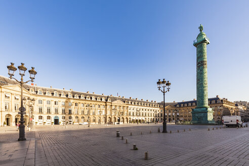 France, Paris, Place Vendome, Victory Column, Colonne Vendome - WDF04806