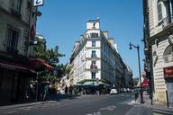 France, Paris, People walking in street - DAS00075