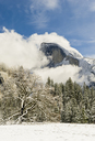 Clearing snow storm and Half Dome, Yosemite National Park, California - AURF02159
