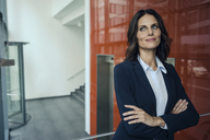 Portrait of a successful businesswoman, with arms crossed - KNSF04461