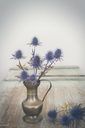 Blue Thistles in a vase - JUNF01107