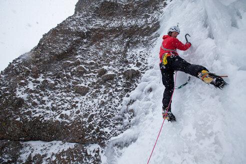 Red Cliff Ice Climbing - AURF02307