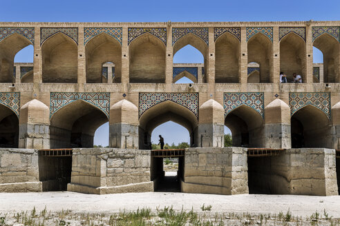 Iran, Isfahan Province, Isfahan, Si-o-se Pol Bridge - FPF00206