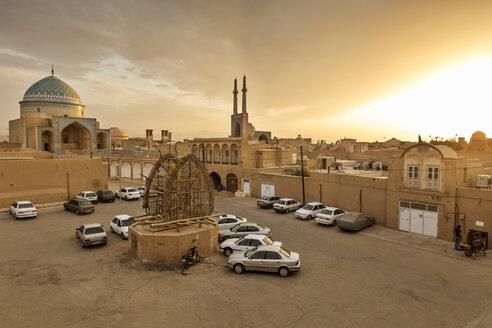 Iran, Yazd Province, Yazd, Jameh Mosque of Yazd - FP00215