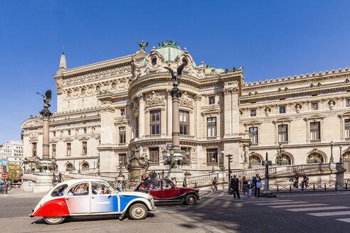 France, Paris, Opera Garnier, city tour with Citroen 2CV - WD04814