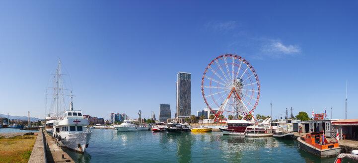 Georgia, Adjara, Batumi, Ferris wheel near the marina and Miracle Park - WW04358
