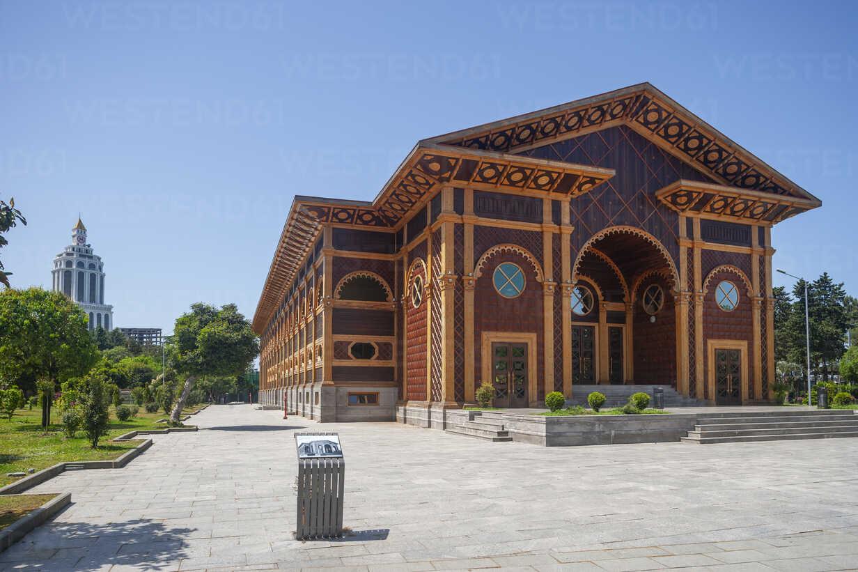 Georgia, Adjara, Batumi, Summer Theatre at the Seaside Park - WWF04367 - Wolfgang Weinhäupl/Westend61