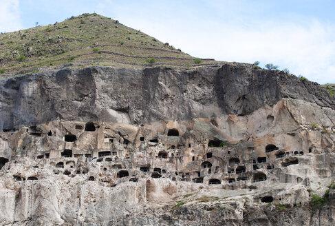 Georgia, Samtskhe-Javakheti, Cave city Vardzia - WWF04385
