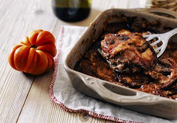 Roasting tray with Parmigiana - RAMAF00095
