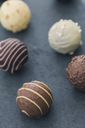Various chocolate truffles - JUNF01161