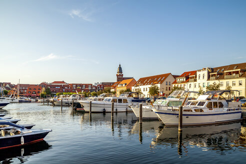 Germany, Mecklenburg-Western Pomerania, Waren at the Muritz - PUF01321