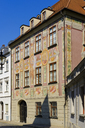 Germany, Augsburg, Kathan House, mural painting - SIEF07996