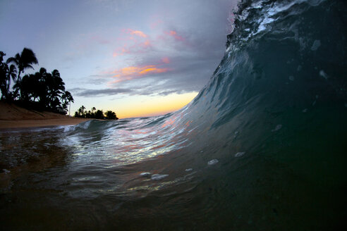 A wave breaking to shore. - AURF03715