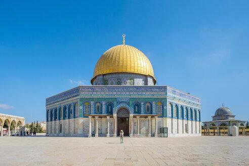 Dome of the Rock on Temple Mount, Jerusalem, Israel - AURF03891