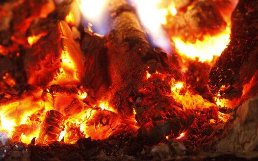 Fireplace, fire, close-up - JTF01060