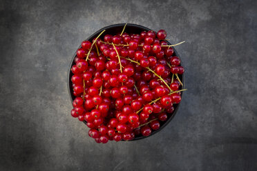 Bowl of red currants - LVF07427
