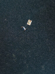 Indonesia, Bali, Aerial view of shrimp farm - KNTF01286