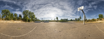 Basketball ground, 360 degree view - STSF01737