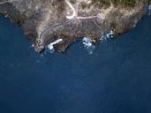 Indonesia, Bali, Aerial view of Nusa Dua beach - KNTF01343