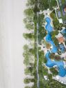 Indonesia, Bali, Aerial view of Nusa Dua beach - KNTF01355