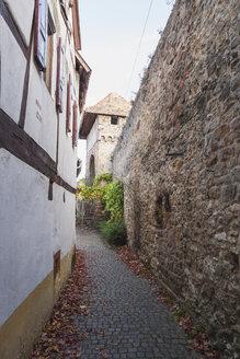 Germany, Rhineland-Palatinate, Freinsheim, Historic city wall - GWF05658