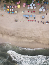 Indonesia, Bali, Kuta, Aerial view of Padma beach - KNTF01377