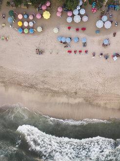 Indonesia, Bali, Kuta, Aerial view of Padma beach - KNTF01377