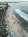 Indonesia, Bali, Aerial view of Padma beach - KNTF01383
