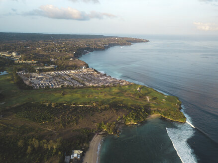 Indonesia, Bali, Aerial view of Balangan beach - KNTF01416