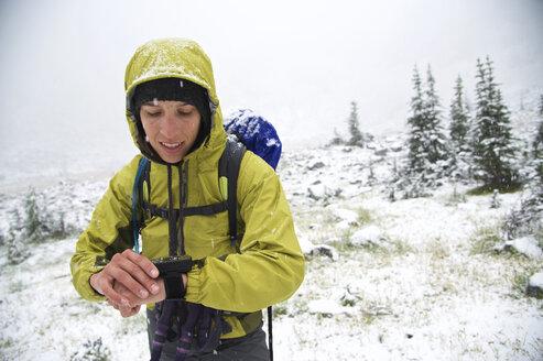 Backpacking Glacier Creek Wilderness - AURF04316