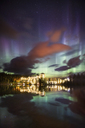 Aurora over Fairmont Lake Louise - AURF04343