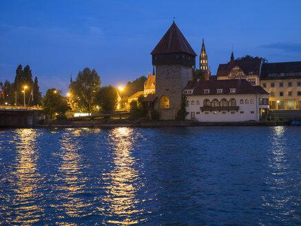 Germany, Constance, Lake, Constance, Rheintor Tower at Webersteig - LAF02099